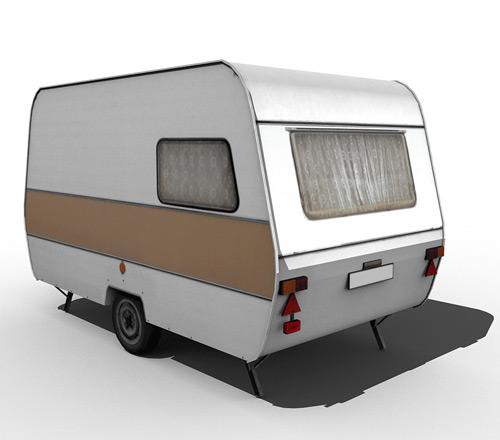 80's caravan [brown]