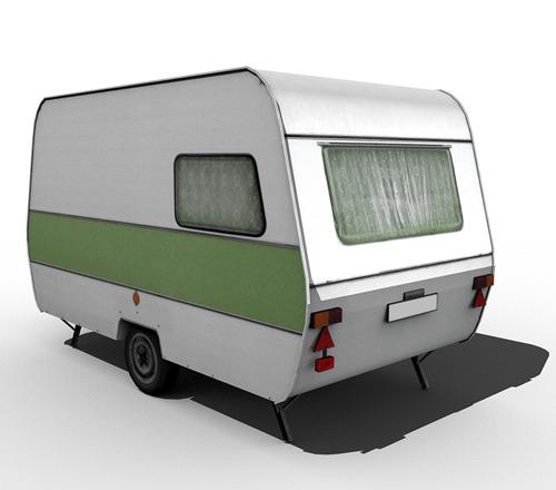 80's caravan [green]