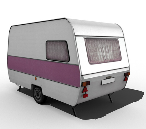 80's caravan [violet]